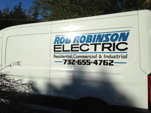 Rob Robinson Electric Van